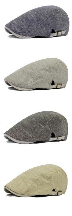 7.12 Vintage Men s Cotton Beret Cap Casual Newsboy Hats Trajes Masculinos c07f17ec31c