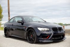 with black rims - Love Cars & Motorcycles Bmw Sport, Jeep Cars, Bmw Cars, Bmw M3, Bmw M Series, Bmw Wallpapers, Bmw Autos, Weird Cars, Crazy Cars
