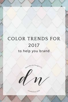 I am just loving the colors trends for 2017! 2017 is the year of gorgeous dusty and earthy tones. These colors are not just limited to graphic design; I am seeing them in fashion and…