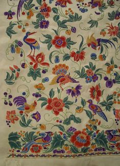 Parsi embroidery is yet another example of how a century-old art can be so relevant, without putting up with those bleeding colors. Parsi embroidery is a unique part of India's diverse textile heritage. This unique artistic tradition has its roots in Iran during the Bronze Age but with time it has drew influences from European, Chinese, Persian and Indian culture.