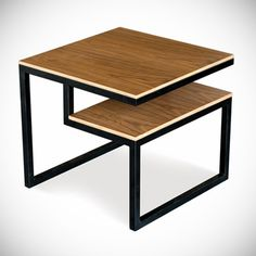 Looking for a modern end table? Gus Modern has the answer. Check out the Ossington End Table at Smart Furniture. Furniture Making, Furniture Decor, Modern Furniture, Furniture Design, Lobby Furniture, Smart Furniture, Furniture Outlet, Furniture Plans, Office Furniture