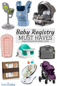 how to use to make a baby registry of stuff you really