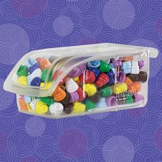 Crystal clear InSight Bins allow you to see exactly what is inside. #organize #hospital #5S #storage