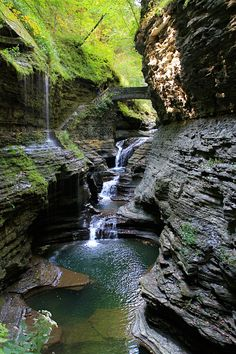 Watkins Glen State Park - I haven't been here since i was a kid.  still so beautiful! :)