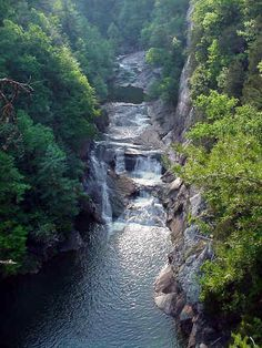 Tallulah Gorge, North Georgia, I LOVE North Georgia for several reasons and if you have not been here, go!! It's a great workout too :)