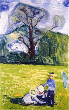 Spring in Dr. Linde's Garden 1903. Edward Munch (1863-1944)