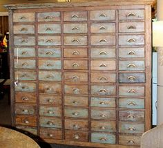 on the hunt for this apothecary cabinet forever!been on the hunt for this apothecary cabinet forever! Painting Wooden Furniture, Antique Furniture, Cool Furniture, Furniture Design, Furniture Online, Cabinet Furniture, Furniture Stores, Rustic Furniture, Old Cabinets