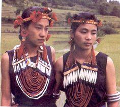 Nagaland Sema Girls in traditional dress