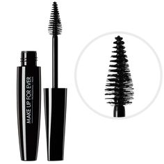Taurus product pick: Shade lashes with MAKE UP FOR EVER Smoky Extravagant Mascara and finish with Rouge Artist Intense Lipstick #22 #Sephora #zodiacbeauty #makeuptututorial @Yaffa Rasowsky UP FOR EVER OFFICIAL