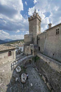 Piccolomini Castle Capestrano Abruzzo Italy