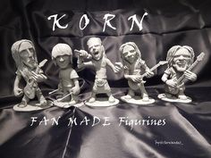 KORN FAN MADE FIGURINES #korn20 #kornfamily #Korn #kornart #justcallmehorse #brianheadwelch #head #munkykorn #jdevil33 #jonathandavis #rayluzier #fieldykorn  #kornfigurines #figurine #sculpture #supersculpey @jonathandavis @rayluzier @fieldykorn @brianheadwelch @munkykorn @justcallmehorse @korn_official
