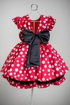 Minnie Mouse Birthday Outfit, Mickey Mouse Clubhouse Birthday Party, Minnie Mouse Costume, Minnie Mouse Cake, Baby Girl Birthday, Minnie Mouse Dresses, Princess Tutu Dresses, Disney Princess Costumes, Little Girl Dresses