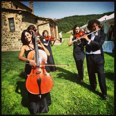 #Classic #ensamble during a #marriage in #Montalcino