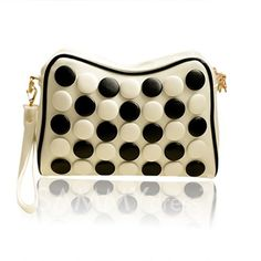 $12.21 Casual Women's Clutch With Button and PU Leather Design Reminds me of Hikaru no Go *sigh*