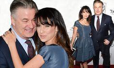 Alec Baldwin and wife Hilaria at the NY Film Critics Circle Awards
