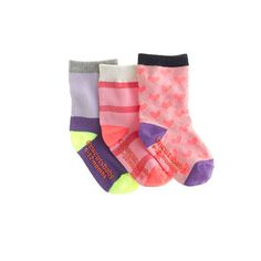 Baby socks 3-pack - toys and accessories - shop_by_category_mobile - J.Crew