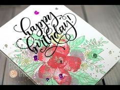 Prairie Paper & Ink: Hello Lovely Happy Birthday CAS Card
