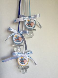 Dumbo Baby Shower Pacifier Favors Set of 12 Clear Baby Shower Favors Baby Pacifier Necklaces Dont say Baby or Dont cross legs game Baby Shower Dumbo Baby Shower, Baby Dumbo, Elephant Baby Showers, Baby Shower Signs, Baby Shower Fun, Baby Shower Favors, Baby Shower Cakes, Baby Shower Parties, Baby Shower Themes