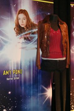 Amy Ponds costume by The Doctor Who Site, via Flickr