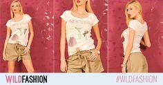 Ce ziceti de un tricoul cool, cu personalitate? E din bumbac si perfect pentru o tinuta casual, de weekend: Capri Pants, Casual, Fashion, Moda, Capri Trousers, Fashion Styles, Fasion, Casual Clothes