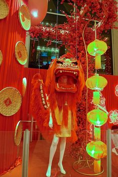 Interesting Chinese New Year decoration at Pavilion KL