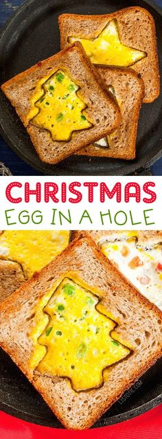 Fun & Easy Christmas Breakfast Ideas For Kids - Christmas breakfast recipes for kids or adults. Enjoy Christmas brunch with a fun Holiday themed eg - Breakfast And Brunch, Christmas Morning Breakfast, Christmas Brunch, Breakfast For Kids, Best Breakfast, Kids Christmas, Christmas Games, Breakfast Casserole, Simple Christmas