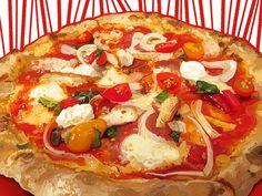 """Pizza"" by Susan Murtaugh #iPadArt #iPadPainting #MobileDigitalArt #SketchbookPro #JotTouch"