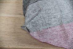 Fotonávod: Oboustranná nákupní taška do kabelky - Prošikulky.cz Textiles, Blanket, Blankets, Fabrics, Cover, Comforters, Textile Art