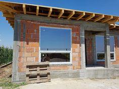 Casa pe parter in Corbeanca | CoArtCo House Foundation, Design Case, Home Fashion, Architect Design, House Plans, Pergola, Outdoor Structures, Construction, House Design