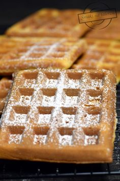 Waffles, Cake Recipes, Muffins, Food And Drink, Cooking Recipes, Breakfast, Barbie, Polish Recipes, Kuchen