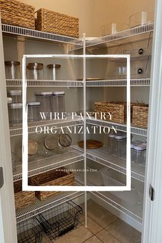 Organize and declutter to make the best of your wire shelving!
