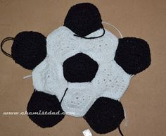 Crochet soccer ball hat here is the pattern for the soccer ball i crochet soccer ball hat pattern dt1010fo