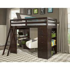 Skyway Twin Loft Bed with Storage