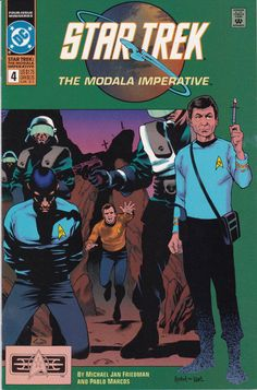 Star Trek Original Series The Modala Imperative #4 1991 DC Comics