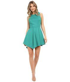Adelyn Rae Asymmetrical Hem Sleeveless Dress