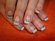 If the natural nail surface is too short we can extend the nail with the gel method and apply French manicure or other nail styling. Description from 15-115.com. I searched for this on bing.com/images