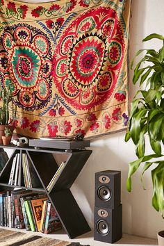 One-Of-A-Kind Suzani Tapestry - Urban Outfitters