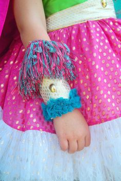 High Fashion Super Hero Arm Bands Haute Hero by FairytaleJubilee, $35.00