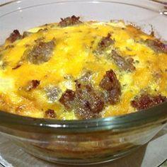 Spinach, Sausage, and Egg Casserole Allrecipes.com #MyAllrecipes #AllrecipesAllstars #AllrecipesFaceless
