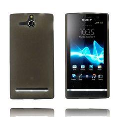 Mjukskal - Matt Transparent (Grå) Sony Xperia U-Skydd