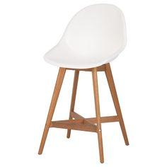 IKEA - FANBYN, Bar stool with backrest, You sit comfortably thanks to the restful flexibility of the seat.
