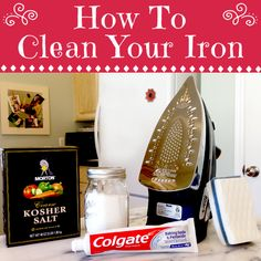 Four Ways To Clean Your Iron....Which One Worked Best? | One Good Thing By Jillee