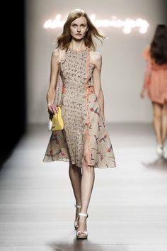 Cibeles Madrid Fashion Week SS 2012.  Adolfo Dominguez