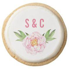 Modern Wedding Favors, Cookie Wedding Favors, Personalized Wedding Favors, Wedding Desserts, Monogram Wedding, Wedding Ideas, First Birthday Parties, First Birthdays, Succulent Cupcakes