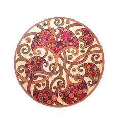 "Decorative Plate ""Oriental 2"" | L'Essenziale Boutique"