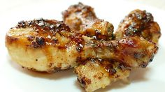Receta de pollo asado a la miel y mostaza
