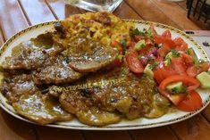 Greek Recipes, Pork Recipes, Cooking Recipes, Healthy Recipes, Greek Menu, Grilled Chicken, Food Inspiration, Dinner Recipes, Food And Drink