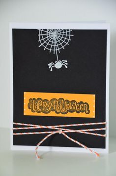 Inspired Kreations: Halloween and Autumn Cards