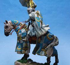 St. Petersburg Tuetonic Knight Northern Crusades 54mm