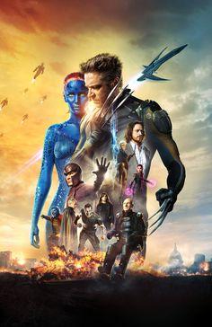 X-Men: Days Of Future Past by Phet Van Burton